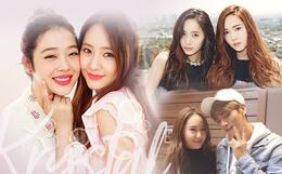 Người cô độc nhất SM chính là Krystal: chị gái Jessica, thành viên f(x) đều rời công ty; phải chứng kiến người anh Jonghyun và bạn thân Sulli ra đi mãi mãi
