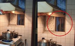 Đang nấu cơm tối, người phụ nữ hoảng hồn khi thấy ngoài cửa sổ có bóng người đang nhìn chằm chằm vào mình