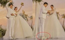 Hoá ra Ông Cao Thắng cũng ám ảnh chiều cao như bao người: Đi giày độn gần 10cm để xứng tầm Đông Nhi trong lễ cưới