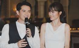 Hậu đám cưới thế kỷ, Đông Nhi tiết lộ sụt 1,5kg nhưng vẫn xuất hiện cực xinh bên ông xã Ông Cao Thắng tại tiệc cảm ơn