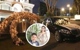 Cập nhật trước giờ cử hành hôn lễ: Biệt thự nhà chồng Bảo Thy đã trang hoàng lộng lẫy, xe hoa chuẩn bị sẵn sàng nhưng im ắng đến lạ