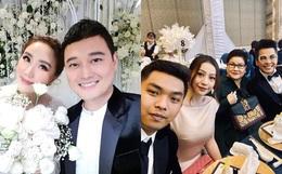 """Dàn sao Vbiz trong hôn lễ của Bảo Thy: MiA sánh đôi cùng ông xã, Quang Vinh gây chú ý với nhan sắc """"hack tuổi"""""""