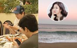 Song Joong Ki đi nghỉ ở Hawaii, Song Hye Kyo trùng hợp cũng liên tục đăng ảnh đi biển, chuyện gì đây?