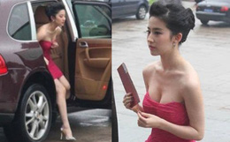 Khoảnh khắc xuống xe bất hủ của Lưu Diệc Phi: Thần thái đỉnh cao nhưng body sexy nổ mắt mới gây choáng