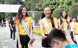 Hoa hậu Khánh Vân và 2 Á hậu tham gia hoạt động đầu tiên hậu đăng quang: Giản dị mà đẹp quá, ai nhỉnh hơn trong một khung hình?