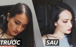 Từng bị thưa tóc lộ cả da đầu, blogger Giang Ơi chia sẻ bí quyết giúp tóc mọc nhanh mà ai cũng làm được