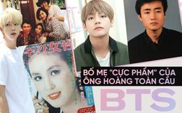 """Choáng với bố mẹ của """"ông hoàng toàn cầu"""" BTS: Ai cũng đẹp xuất sắc, mẹ Jin thi Hoa hậu, bố là CEO"""