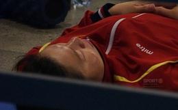 Góc chạnh lòng: Ánh Viên ngủ ngon lành dưới sàn đất trước khi giành 2 HCV liên tiếp tại SEA Games 2019