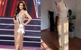 Đầm dạ hội Hoa hậu Khánh Vân diện lúc đăng quang: Zoom kỹ mới thấy lộng lẫy hết sức, tiên đoán phần nào kết thúc có hậu