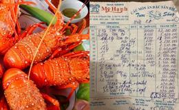 """Khách than trời vì hoá đơn ăn hải sản 85 triệu đồng, nhà hàng lên tiếng: """"Những món khách gọi đều có giá đắt đỏ nhất"""""""