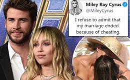 """Miley Cyrus lần đầu viết tâm thư về vụ ly hôn: Thừa nhận đồi truỵ, nghiện ngập nhưng không """"cắm sừng"""" Liam"""