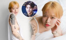 """Nữ nghệ sĩ xăm dính tin hẹn hò Jungkook (BTS): Để tóc dài xinh và sexy bất ngờ, chính thức lên tiếng sau khi bị """"khủng bố"""""""