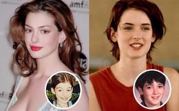 """Loạt mỹ nhân Hollywood lột xác sau tuổi dậy thì: Anne Hathaway thay đổi ngoạn mục cũng không bằng """"tình cũ"""" Johnny Depp"""
