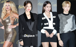 """Dàn sao hạng A đổ bộ siêu sự kiện: Jisoo (BLACKPINK) """"đè bẹp"""" Shin Min Ah, đau đầu vì quân đoàn nam thần quá hot hội tụ"""