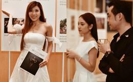 Trang Pháp và vợ chồng Dương Khắc Linh đụng độ tại sự kiện, bơ nhau rõ ràng trong một khung hình?