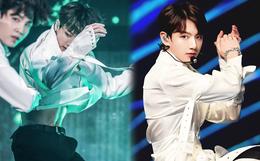 Xuất hiện nam idol Kpop eo con kiến nhỏ đến mức đọ được với BLACKPINK, tưởng lạ nhưng lại chính là em út BTS
