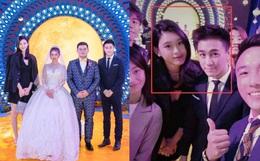 """Ming Xi tham dự sự kiện giới siêu giàu: """"Lấn át"""" cô dâu chú rể vì chiều cao khủng nhưng vẫn giữ ý vì chồng thiếu gia"""