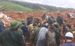 Dãy núi tiếp tục sạt lở lần thứ 2, đã tìm thấy 14 thi thể cán bộ, chiến sĩ bị vùi lấp