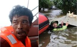 Ảnh: Những gương mặt khắc khổ, những giọt nước mắt thương tâm của người dân miền Trung giữa trận lũ lịch sử