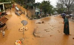 Bão số 9 đã suy yếu nhưng tình hình mưa lũ vẫn đang phức tạp, người dân Quảng Ngãi gồng mình chạy lũ