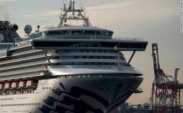 Thêm 70 trường hợp nhiễm virus corona, số người mắc bệnh trên du thuyền cách ly Diamond Princess chiếm 87% toàn Nhật Bản