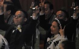Tiệc cưới bí mật của Tóc Tiên - Hoàng Touliver: Chú rể lấy áo choàng cho cô dâu, vợ chồng son quẩy hết mình với khách mời
