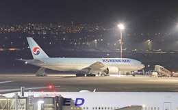 Nóng: Tiếp viên đường bay quốc tế hãng hàng không Korean Air nhiễm virus corona