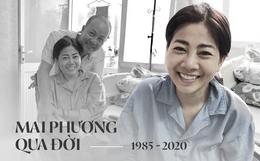 Diễn viên Mai Phương qua đời sau hơn 1 năm chiến đấu với bệnh ung thư quái ác