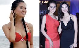 """Hoa hậu chiều cao khủng nhưng """"xui xẻo"""" nhất Việt Nam giờ ra sao?"""