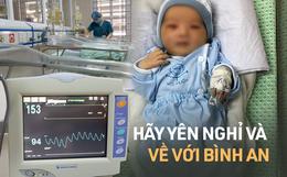 Bé trai sơ sinh bị bỏ rơi dưới hố gas đã qua đời