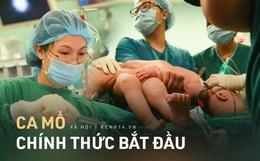 Tiến hành phẫu thuật tách dính 2 bé gái song sinh: Bố mẹ con đã khóc, mọi người đều mong các con được bình an