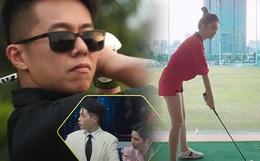 """Thêm bằng chứng Hương Giang hẹn hò với CEO """"Người ấy là ai"""": Tập đánh golf, đi Đà Lạt chung?"""