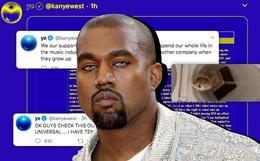 """SỐC: Kanye West điên cuồng đăng clip đi tiểu lên cúp Grammy kèm 168 bài đăng """"khủng bố"""" Twitter suốt 5 tiếng rạng sáng nay"""