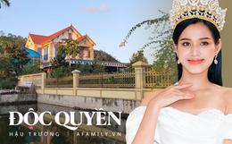 Độc quyền: Cơ ngơi siêu rộng và hoành tráng của gia đình tân Hoa hậu Việt Nam 2020 Đỗ Thị Hà tại quê nhà