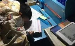 Con trai học từ sáng tới 23h chưa được nghỉ, cậu xin mẹ ngủ 5 phút và mãi mãi không tỉnh dậy
