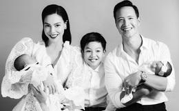 Đúng sinh nhật, lần đầu tiên Hà Hồ - Kim Lý công khai ảnh gia đình 5 người, chỉ nhìn thôi cũng hạnh phúc lây