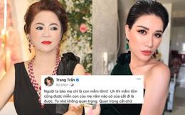 """Trang Trần phản ứng thế nào sau khi CEO Đại Nam tuyên bố đâm đơn kiện vì """"ép cung"""" Hồ Văn Cường?"""