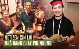 """Từng phẫn nộ đến mức """"đánh sập"""" nhà hàng chay của NS Phi Nhung trên Google, nhiều netizen """"quay xe"""" hối hận đánh giá lại 5 sao!"""