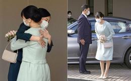 Công chúa Nhật Bản không váy cưới nghẹn ngào chào cha mẹ, cúi đầu trước dân chúng, một mình rời khỏi nhà trong ngày hôn lễ