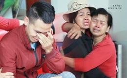 Ảnh: Người thân bật khóc xúc động khi nhắc lại khoảnh khắc con trai cứu sống bé gái 3 tuổi rơi từ tầng 12