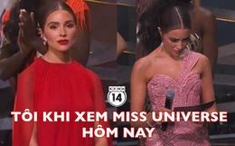 """Hot nhất đêm Chung kết Miss Universe là biểu cảm """"khó ở"""" của Hoa hậu Hoàn vũ 2012 khi đại diện Mexico chiến thắng"""