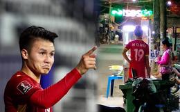 """Phát hiện Quang Hải vẫn kịp đi mua xôi trước trận gặp Malaysia tối qua, sự thật còn """"ngã ngửa"""" hơn"""