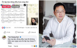 Chủ tịch FPT vào xem cô giáo Minh Thu livestream, để lại nhận xét về hiện tượng này cực thấm thía