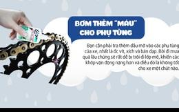 Những lưu ý bạn cần nhớ khi đi xe máy điện mùa mưa