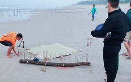Vụ cô gái mất đầu trôi vào bãi biển ở Quảng Nam: Thêm thông tin về dòng chữ Trung Quốc trên bộ quần áo bảo hộ của nạn nhân