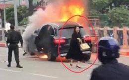 Nữ tài xế Mercedes khai do đi giày cao gót lại mất bình tĩnh nên đạp nhầm chân ga gây tai nạn liên hoàn khiến 1 người tử vong