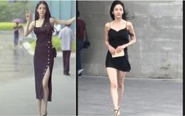 """Đăng clip khoe dáng, hot girl bị """"bóc mẽ"""" qua loạt ảnh người qua đường chụp: Xinh thì có nhưng kéo chân hơi quá không?"""