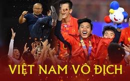 Thắng đậm Indonesia 3-0, Việt Nam lần đầu giành huy chương vàng SEA Games