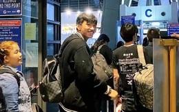 Bạn gái Hoàng Anh (Ốc) tiễn Văn Hậu ra sân bay về Hà Lan, nhìn nụ cười buồn mà ai cũng thương ơi là thương!