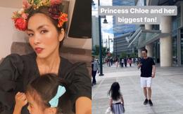 """Tăng Thanh Hà khoe khoảnh khắc Louis Nguyễn """"săn đón"""" con gái đúng chuẩn fan cứng: Ông bố của năm đây rồi!"""